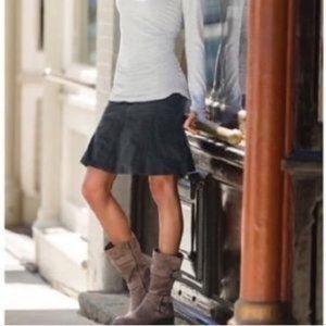 Athleta Dark Gray Whenever Cord Corduroy Skirt
